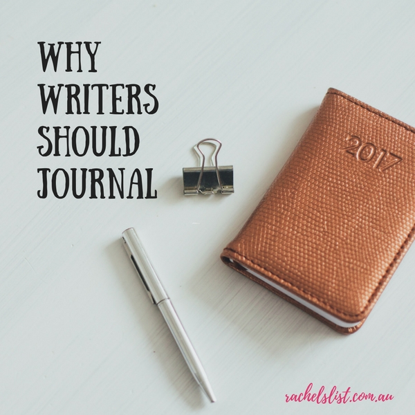 Why writers should journal