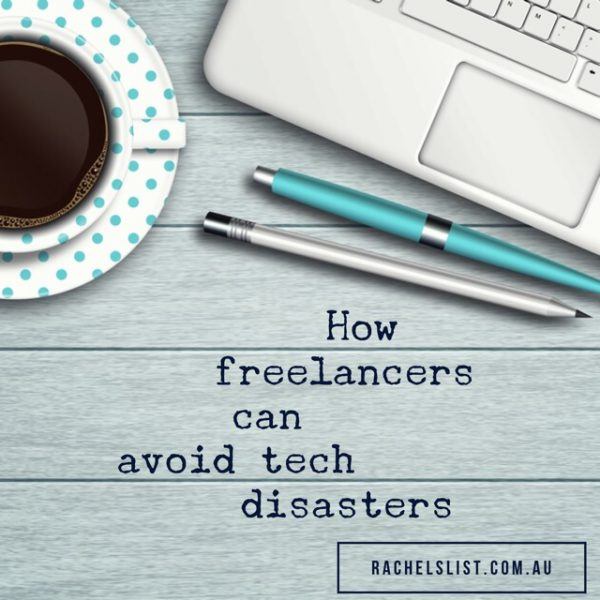 How freelancers can avoid tech disasters