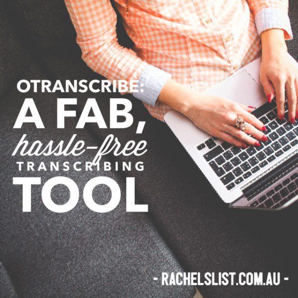 oTranscribe: A hassle-free transcribing tool I love