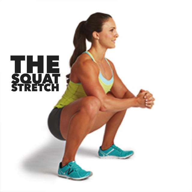 the squat stretch great for back pain
