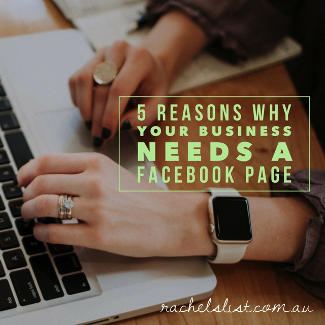 5 reasons why your business needs a Facebook page