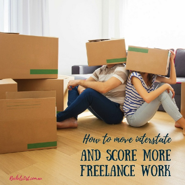 How to move interstate AND score more freelance work