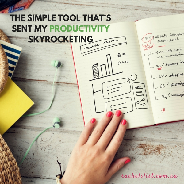 The simple tool that's sent my productivity skyrocketing