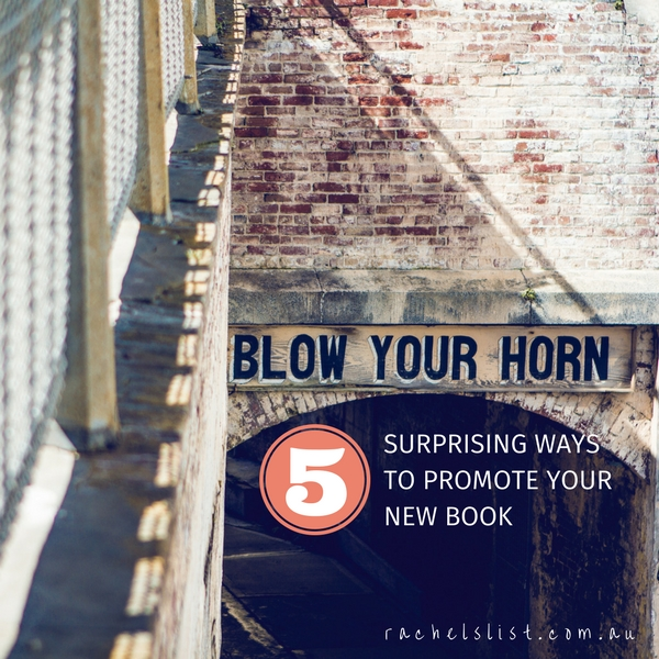 5 surprising ways to promote your new book