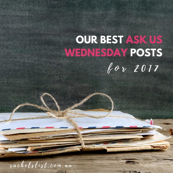 Our best Ask Us Wednesday posts for 2017