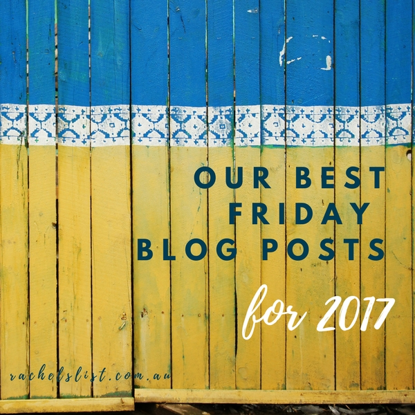 Our best Friday posts for 2017