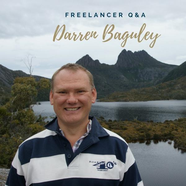 Freelancer Q&A… Meet Darren Baguley!