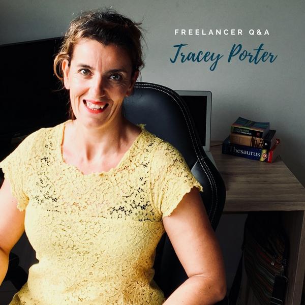 Freelancer Q&A… Meet Tracey Porter!