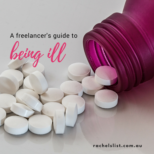A freelancer's guide to being ill