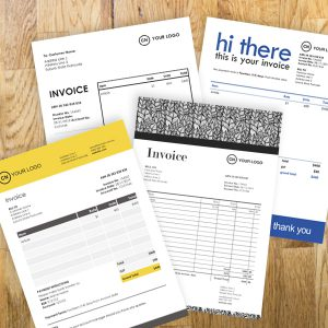 rachel's list invoice templates for freelancers customisable in Word