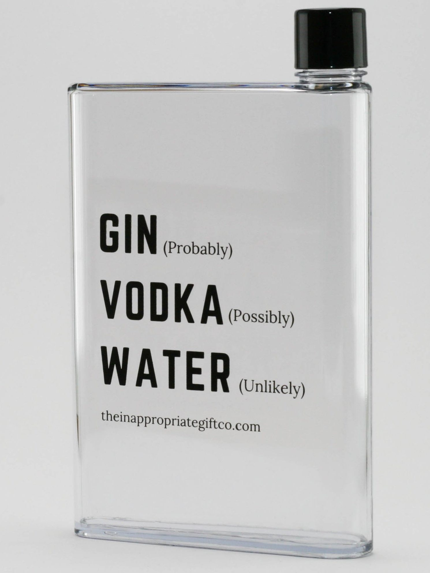 gin vodka water bottle perfect size for your workbag