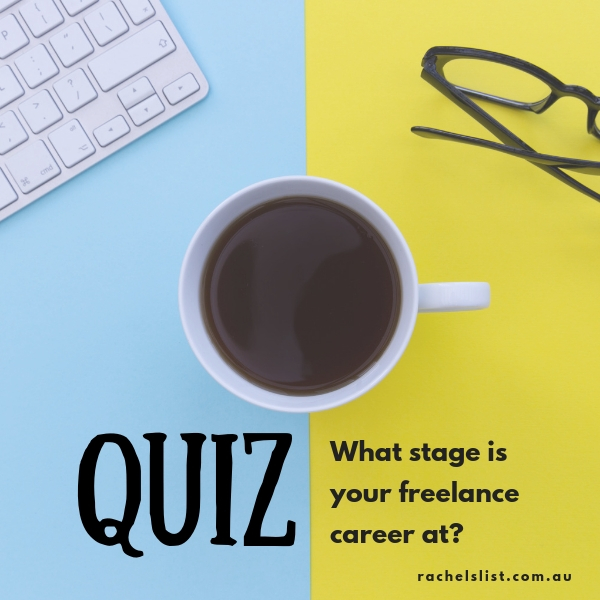 QUIZ: What stage is your career at?