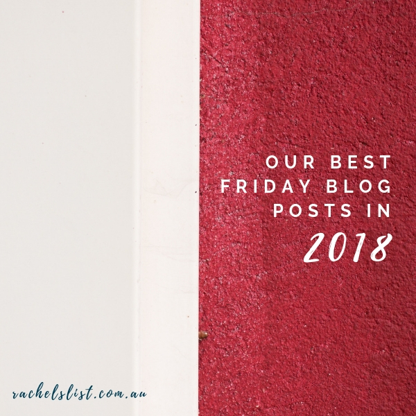 Our best Friday blog posts in 2018