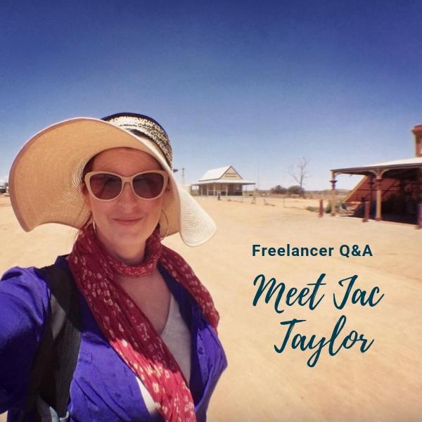 Freelancer Q&A: Meet Jac Taylor!
