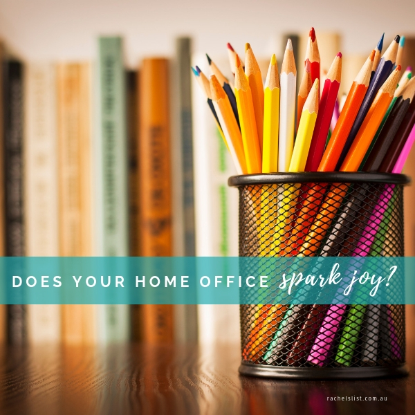 Does your home office spark joy?