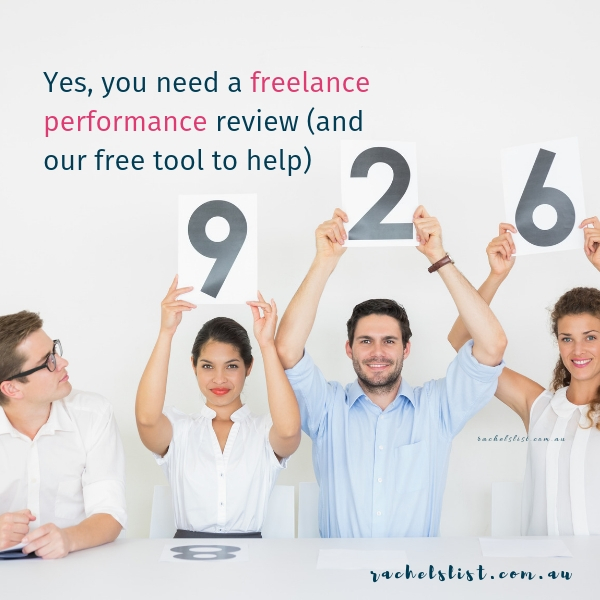 Yes, you need a freelance performance review (and our FREE worksheet to help)