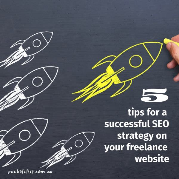 5 tips for a successful SEO strategy on your freelance website