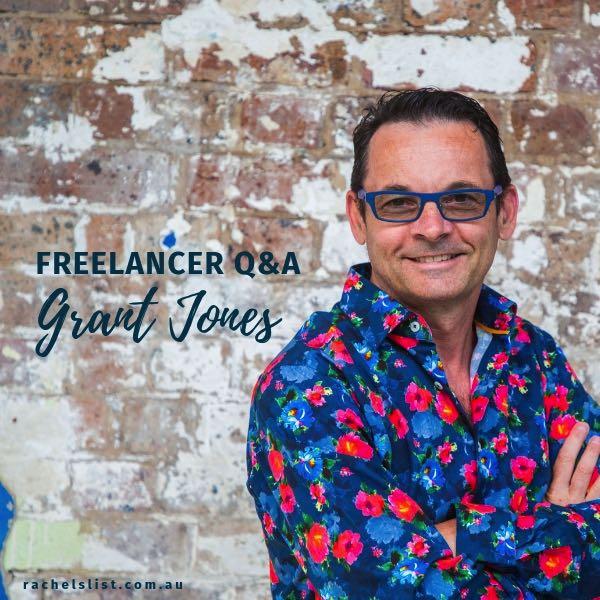 Freelancer Q&A… Meet Grant Jones!