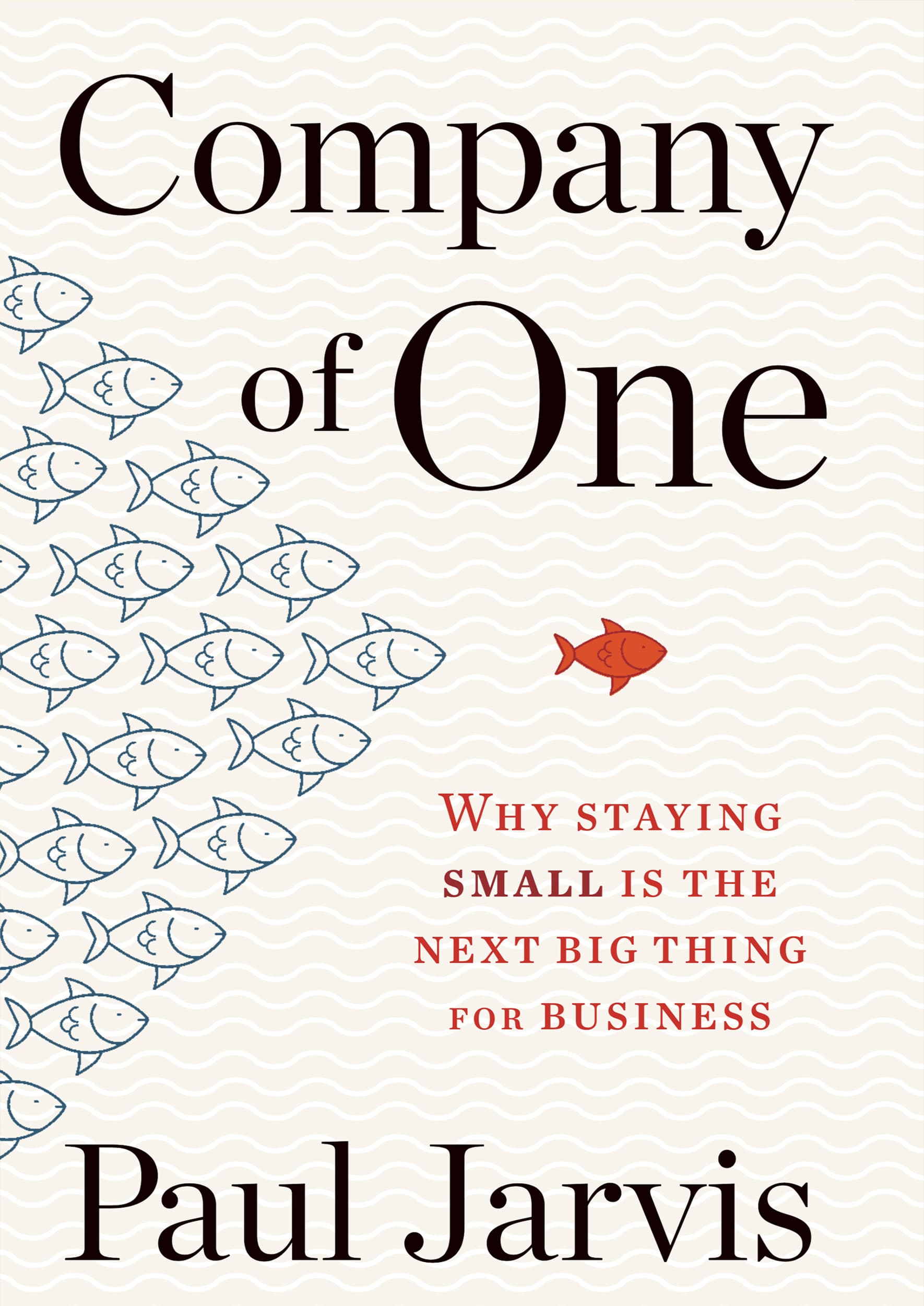Company of One book cover fish