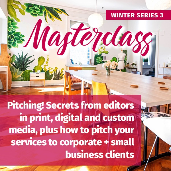 Pitching winter masterclass series