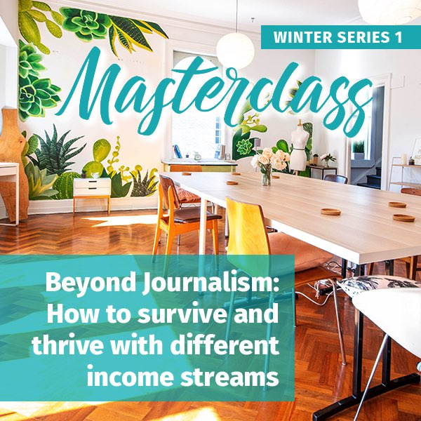 Beyond Journalism winter masterclass series