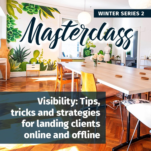 Visibility winter masterclass series
