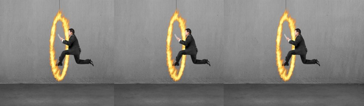 Do job-seekers have to jump through hoops these days?