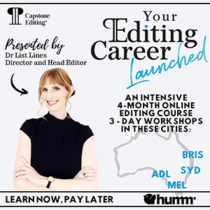 Your Editing Career Launched