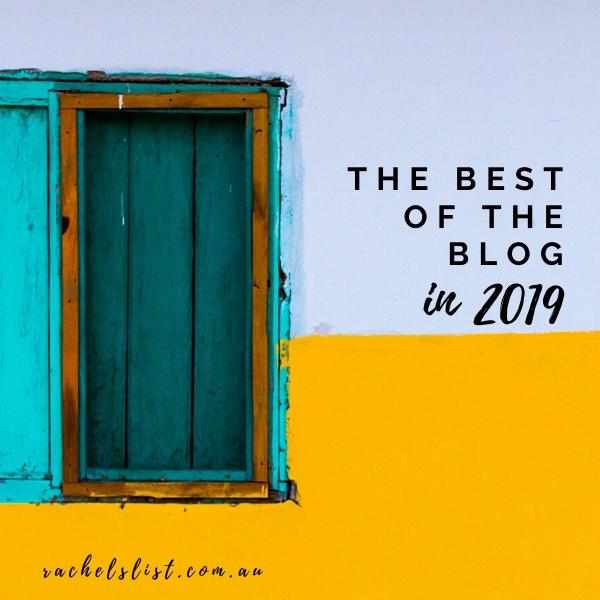 The best of the blog in 2019