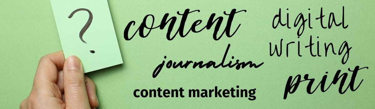 What are the differences between content and journalism?