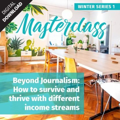 Beyond Journalism video masterclass