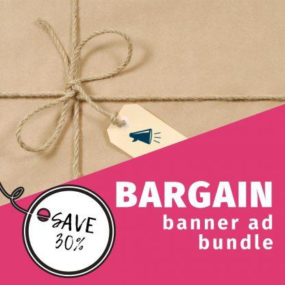 bargain banner ad bundle