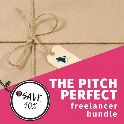 pitch perfect freelancer bundle 10 percent off